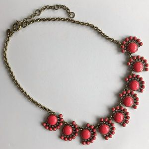 J Crew Baubles & Crystal Necklace
